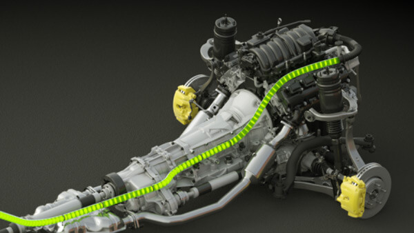 3D-Animation: Photobionics Car-Engine - Biokraftstoff aus Algen | Turntableanimation
